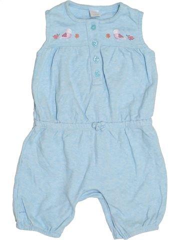 Combinación corta niña MINI CLUB gris 18 meses verano #1429976_1