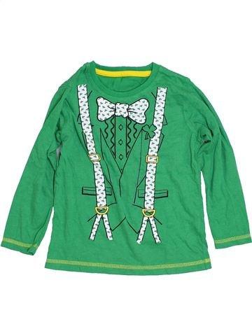T-shirt manches longues garçon DUNNES STORES vert 3 ans hiver #1430139_1