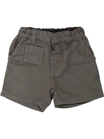 Short-Bermudas niño PETIT BATEAU gris 3 meses verano #1430351_1