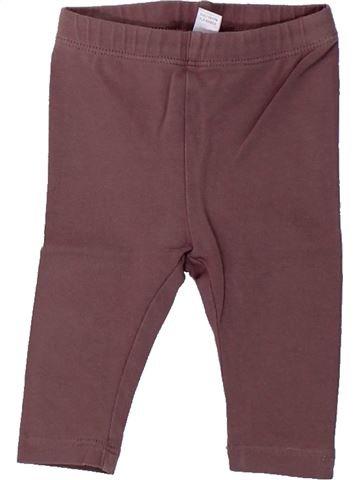 Legging fille OKAIDI violet 3 mois hiver #1430359_1