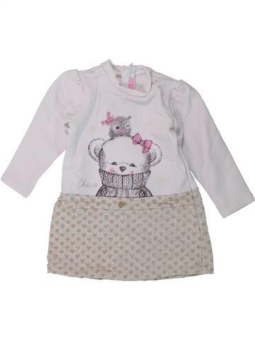 Vestido niña CHICCO gris 12 meses invierno #1430389_1