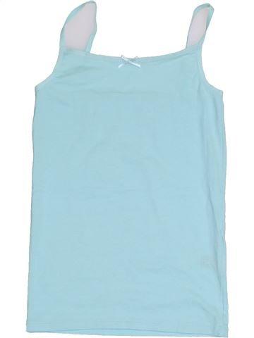 Camiseta sin mangas niña MARKS & SPENCER azul 8 años verano #1430573_1