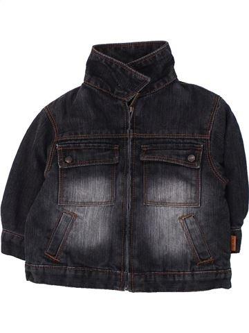 Veste garçon OKAIDI noir 12 mois hiver #1430640_1