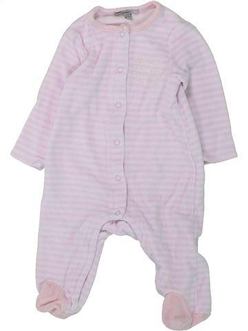 Pijama de 1 pieza niña PREMAMAN blanco 6 meses invierno #1430778_1