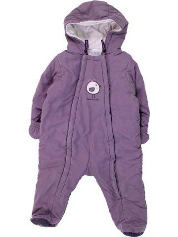 Combi-Pilote fille CADET ROUSSELLE violet 6 mois hiver #1430792_1