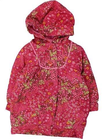 Abrigo niña CLAYEUX rosa 18 meses invierno #1430801_1