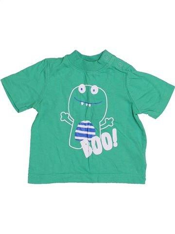 T-shirt manches courtes garçon MOTHERCARE vert 6 mois été #1430802_1