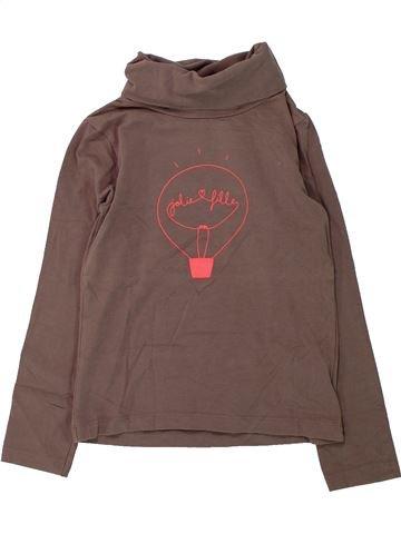 Camiseta de cuello alto niña DPAM violeta 5 años invierno #1430845_1