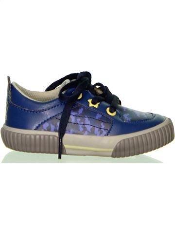 Zapatos con cordones niño VERTBAUDET azul 21 invierno #1430979_1