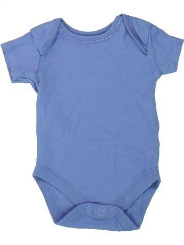 T-shirt manches courtes garçon NUTMEG bleu naissance été #1430995_1