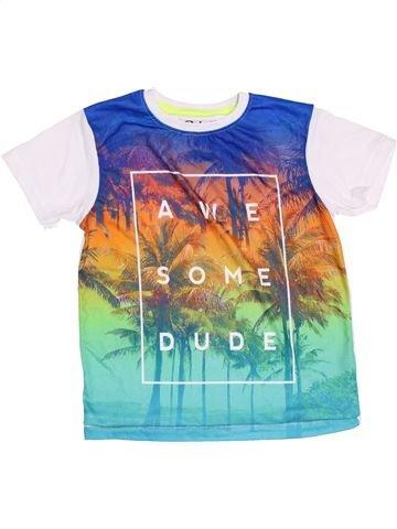 T-shirt manches courtes garçon PRINCESS CON blanc 7 ans été #1431024_1