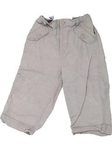 Pantalon garçon OKAIDI gris 18 mois été #1431284_1