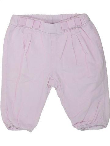 Pantalon fille JACADI blanc 6 mois hiver #1431436_1