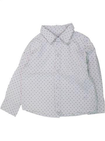 Camisa de manga larga niño LA REDOUTE CRÉATION blanco 3 años invierno #1431458_1