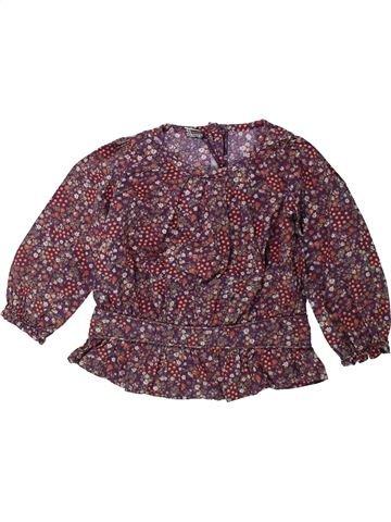 Blouse manches longues fille TAPE À L'OEIL violet 2 ans hiver #1431472_1