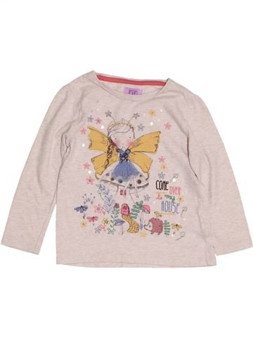 T-shirt manches longues fille F&F violet 2 ans hiver #1431616_1