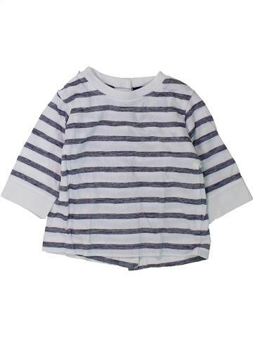 T-shirt manches longues garçon KIABI gris 1 mois hiver #1431687_1