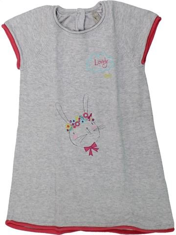Robe fille ORCHESTRA gris 2 ans hiver #1431713_1