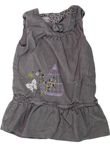 Robe fille LA COMPAGNIE DES PETITS gris 18 mois hiver #1431771_1