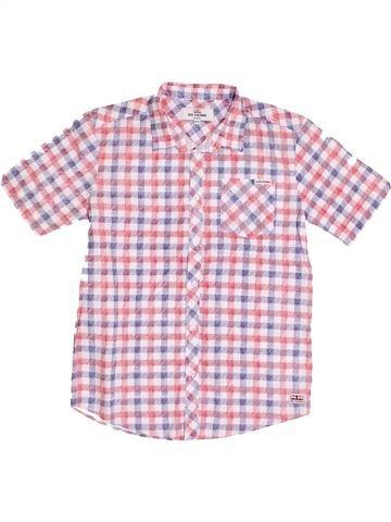 Chemise manches courtes garçon BEN SHERMAN rose 13 ans été #1431795_1