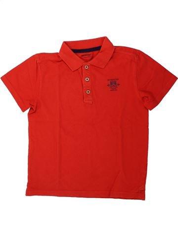 Polo manches courtes garçon ORCHESTRA rouge 10 ans été #1431832_1