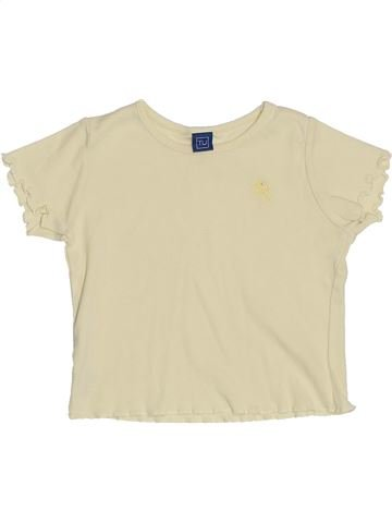 T-shirt manches courtes fille TU bleu 18 mois été #1431847_1