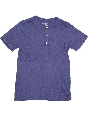 T-shirt manches courtes garçon PRINCESS PARIS bleu 12 ans été #1431946_1