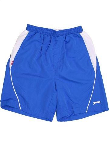 Short de sport garçon SLAZENGER bleu 10 ans été #1431962_1