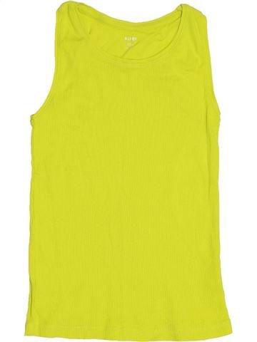 T-shirt sans manches fille KIABI vert 10 ans été #1432025_1