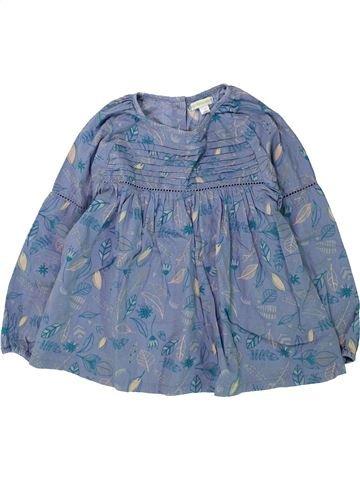 Blouse manches longues fille VERTBAUDET bleu 6 ans hiver #1432038_1