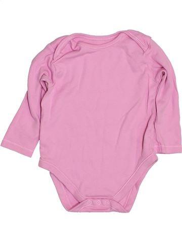 T-shirt manches longues fille NUTMEG rose 12 mois hiver #1432182_1