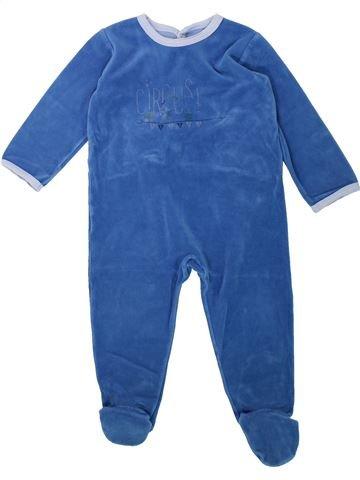 Pijama de 1 pieza niño PETIT BATEAU azul 2 años invierno #1432188_1