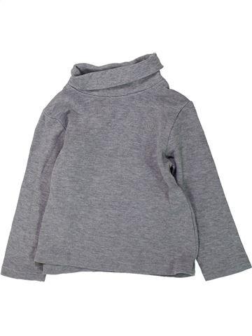 Camiseta de cuello alto niño ORCHESTRA gris 3 años invierno #1432256_1