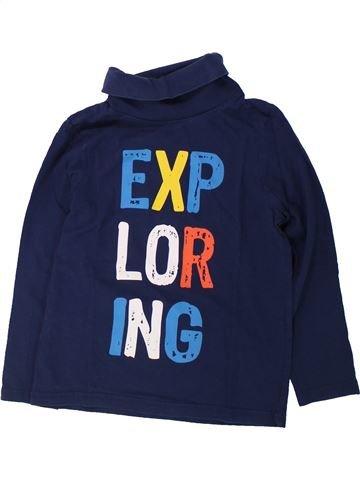 T-shirt col roulé garçon C&A bleu 7 ans hiver #1432366_1