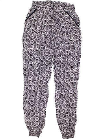 Pantalon fille PRIMARK gris 13 ans été #1432367_1