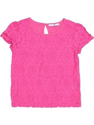 T-shirt manches courtes fille MARKS & SPENCER rose 9 ans été #1432416_1