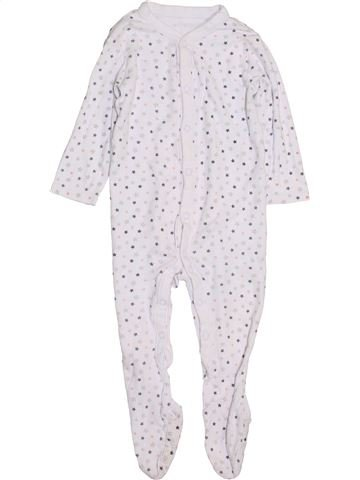 Pyjama 1 pièce garçon NUTMEG blanc 18 mois hiver #1432432_1