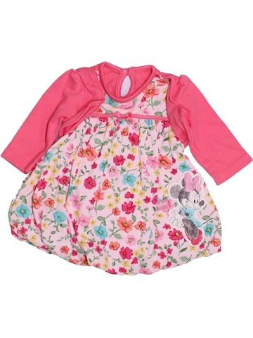 Robe fille GEORGE rose 1 mois hiver #1432524_1