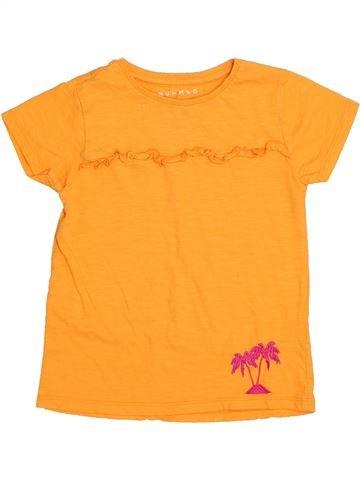 T-shirt manches courtes fille NUTMEG orange 6 ans été #1432550_1