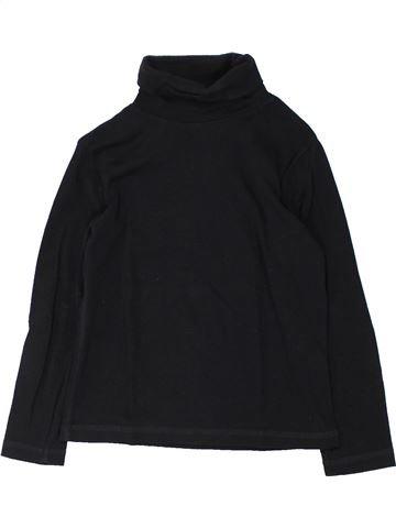 T-shirt col roulé unisexe KIABI noir 6 ans hiver #1432620_1
