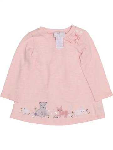 Robe fille DYLAN & ABBY blanc 9 mois hiver #1432769_1