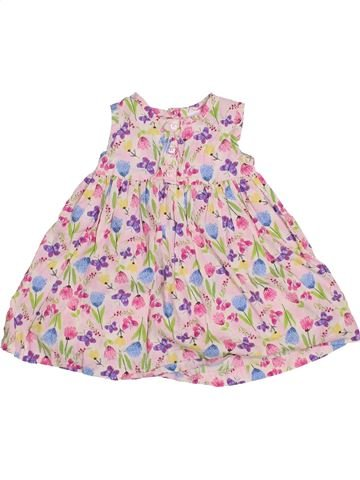 Vestido niña BLUEZOO rosa 12 meses verano #1432798_1