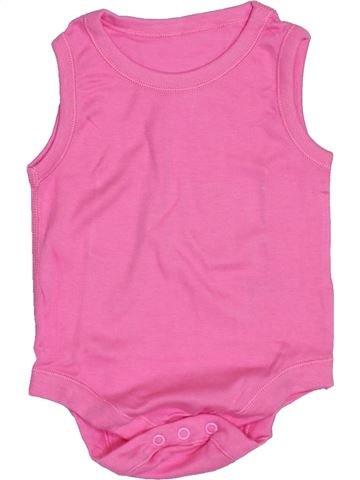 Camiseta de manga corta niña MATALAN rosa 9 meses verano #1432922_1