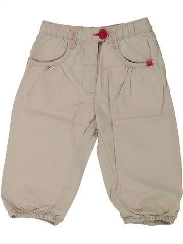 Pantalón niña LA REDOUTE CRÉATION beige 18 meses verano #1432947_1