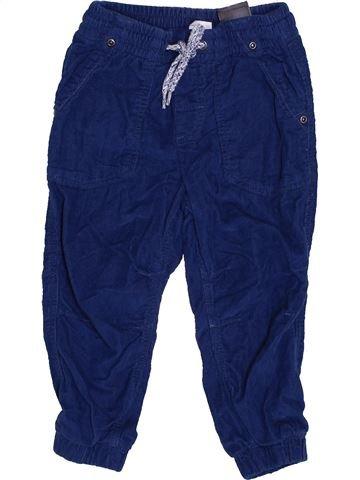 Pantalón niño H&M azul 18 meses invierno #1432985_1