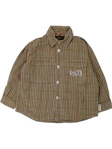 Chemise manches longues garçon TIMBERLAND vert 2 ans hiver #1432992_1