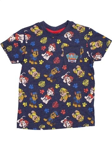 Camiseta de manga corta niño MATALAN gris 4 años verano #1433016_1