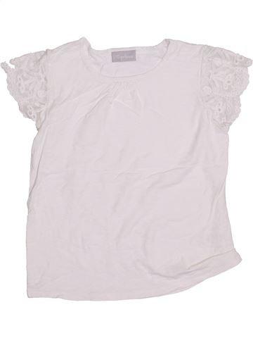 T-shirt manches courtes fille I LOVE GIRLSWEAR blanc 7 ans été #1433053_1