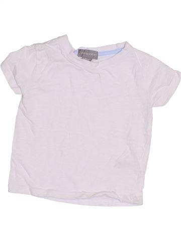 T-shirt manches courtes garçon PRIMARK blanc 18 mois été #1433106_1