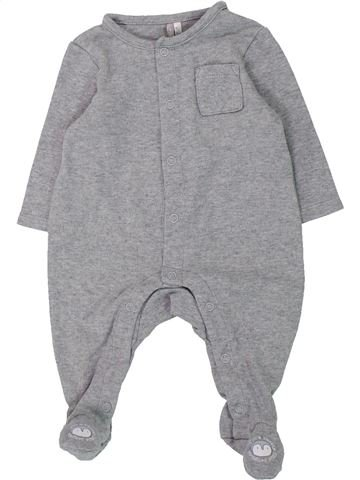 Pijama de 1 pieza niño ORCHESTRA gris 3 meses verano #1433144_1